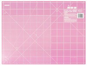 OLFA Schneidematte RM-IC-S,  Farbe: pink,  60 x 45 cm,  limitierte Sonderedition