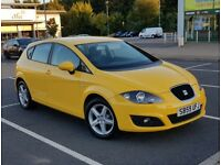 RARE 2010 VW Seat Leon 1.9 TDI 5dr, Full MOT, LOW MILEAGE same as Golf, Audi A3