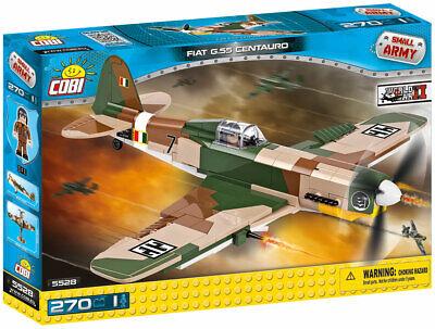 COBI FIAT G.55 Centauro Fighter Plane SET# 5528 (270 Pcs.) US SELLER, WWII, TOY