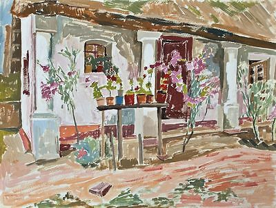 Sonja Wüsten - Balaton - Temperamalerei - o. J.