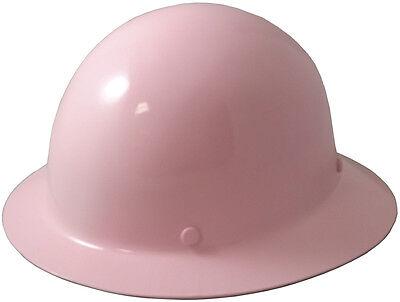 Msa Light Pink Skull Gard Fiberglass Fb Hard Hat With Ratchet Or Pin Lock Susp