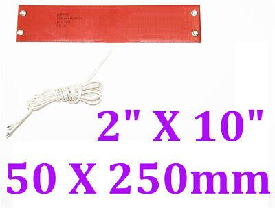 2 X 10 50 X 250mm 100w Thermostat 80 C Car Truck Fuel Diesel Filter Heater Wvo