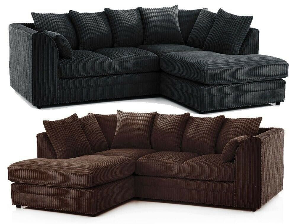 new product b50e1 1d240 ◄◄Limited Time Sale►Same Day►New Dylan Byron Jumbo Cord Corner or 3 and 2  Sofa in 5 Amazing Colours | in Romford, London | Gumtree