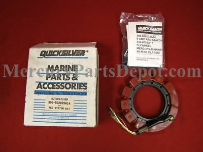 Mercury Marine 9 Amp Red Stator Kit Part # 398-832075A14 S/S 832075A20 - NEW