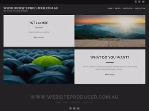 www.WebsiteProducer.com.au Orange Orange Area Preview