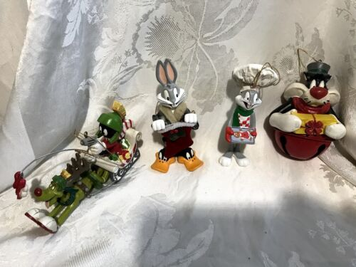 Bugs Bunny Marvin the Martian K-9 Sylvester Ornaments Warner Bros