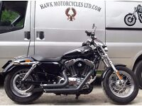IMMACULATE 2011 HARLEY DAVIDSON XL1200C 7564 MILES FORWARD CONTROLS LOTS OF EXTRAS