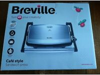Breville Sandwich Press - NEW UNUSED