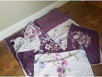 LIKE NEW SINGLE Dorma Bedding 1 X Oxford Pillowcase 1x Housewife 1x Continental Sq Ftd Sgl Sheet