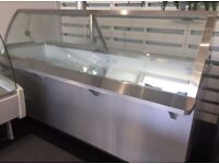 Large Refrigerated Serve Over Counter / Chiller / Deli Counter / Salad Bar / Ice cream Counter