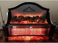 FREESTANDING 2 BAR COAL AFFECT ELECTRIC FIRE - BERRY MAGICOAL -526 BEDFORD