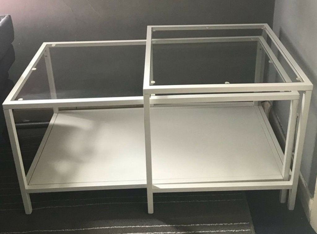 Ikea vittsjÖ nest of tables coffee tables set of white in