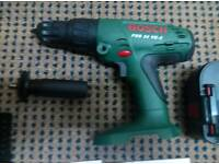 Bosch 24v Cordless Drill - incl charger & battery