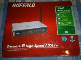 Buffalo wireless broadband modem router