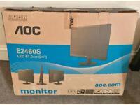 """Aoc E2460S (Monitor 24"""" LED)"""