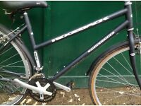 19 inch Ridgeback Adventure 503LX lightweight ladies Hybrid Bike Town bicycle with mudguards