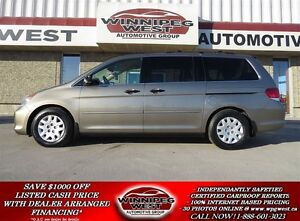 2008 Honda Odyssey LX EDITION, LOADED, 1 OWNER LOCAL TRADE, LOW