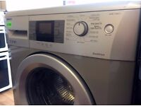 BEKO - Silver , 7KG , A+, 1400 Digital WASHING MACHINE + 3 Months Guarantee + FREE LOCAL DELIVERY