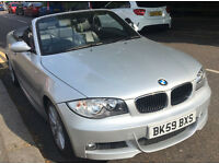 Details about BMW 118i M-Sport 09/59, Convertible ++ Auto ++ Low Tax ++ Black Leather ++