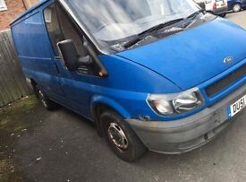2001 Transit van 2.0 280 Swb excellent runner loads of paperwork new clutch, flywheel,brakelines etc