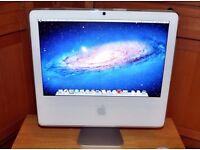 Apple iMac Intel 1.83ghz core2duo + 2gb ram + 160gb + OS X Lion 10.7.5 - BARGAIN AT £50