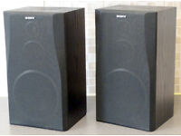 SONY BOOKSHELF SPEAKERS (UPGRADED)