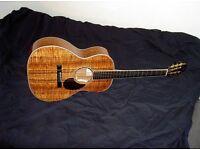 Santa Cruz h13 koa guitar - parlor Gibson L 00 style