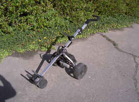 Proteam Electric Golf Trolley with battery, charger, user manual and tool kit