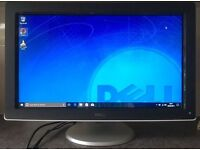 22inch Dell Full HD Widescreen Flat LCD TFT Screen gaming Monitor Webcam DVI VGA HDMI USB Hub