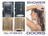 Shower doors. Wet room panels. Various models. Delivery £20.