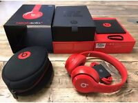 Beats by Dre Solo 2 Red. BRAND NEW.