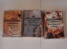 Joe Abercrombie First law trilogy books