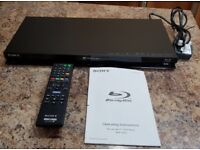 Sony BDP-S470 Blu-Ray Player, DVD, 3D High definition,