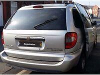 Chrysler Grand Voyager 05 reg, 2.8l diesel