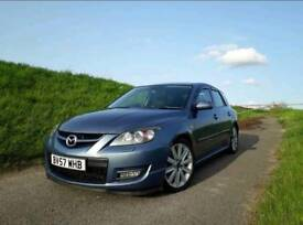 Mazda 3 mps blue 2.3 petrol turbo