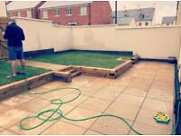 Landscaping, fencing, decking, timber buildings etc
