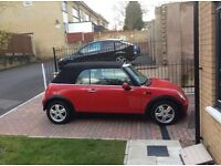 Red Mini Cooper 1.6 Convertible - Low Miles - LONG MOT - Full Service History - TOP SPEC - Cabriolet