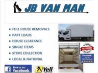 House Removals & Van Man Services Large Luton Van & Tail Lift Two Man Team
