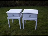 stag minstrel bedside tables cabinets, annie sloan, stag furniture available, 2x