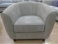 Tub Chair Brown or Beige