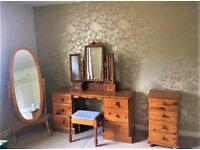 Beautiful solid wood dressing table,SWAP for TV, audio...