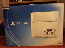 Sony Playstation 4 Glacier White 500GB console