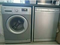 Beko dishwasher and washing machine, £100 each