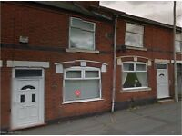 Dss and working accepted burton rd dudley dy1 3tb. 2 double bedroom house with large upstairs bathrm