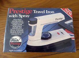Travel Iron with Spray