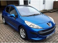 Now Reduced! Peugeot 207 1.4 SE, 5 dr man, P&L warranty avail, fresh mot and timing belt changed !!!