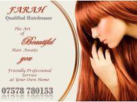 Qualified Ladies' Mobile Hairdresser