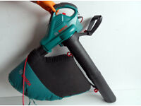 BOSCH Corded garden blower - vacuum.