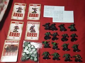 Blood bowl MAX POSITIONS Orc team 2016 + dice + cards + transfers