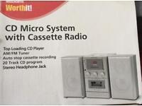 Micro Hi Fi system.